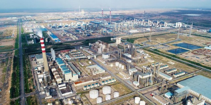 The world's biggest CTL project in Ningxia