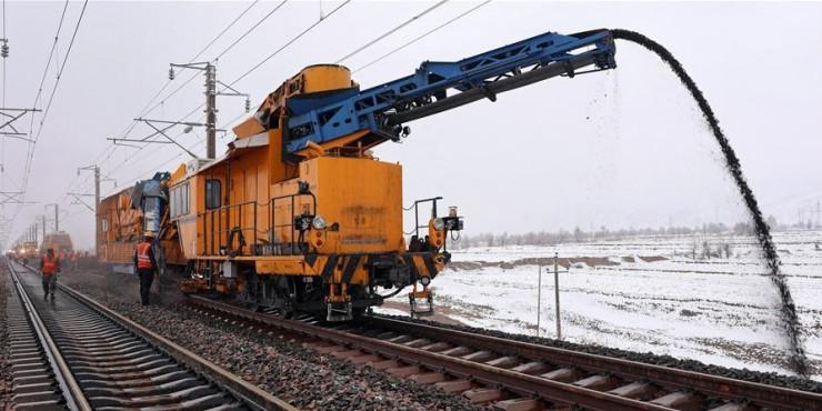 In pics: overhaul of Datong-Qinhuangdao railway
