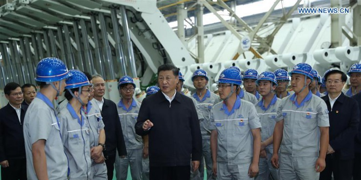 Xi urges manufacturing upgrades