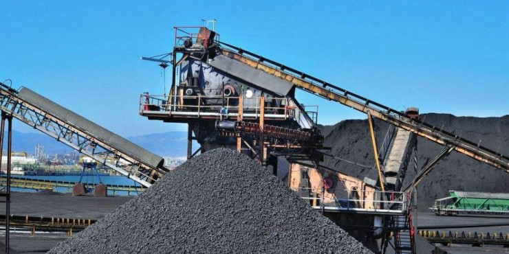 China's raw coal output decreased by 6.3% YoY to 489 million tons from Jan-Feb