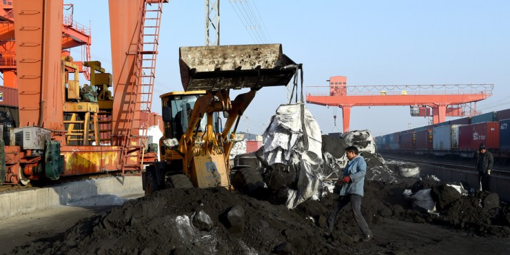 China's coal prices edged up again in early-November: NBS