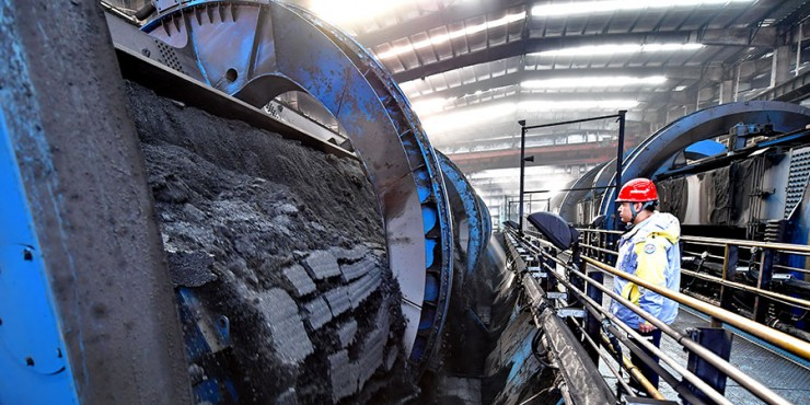 China's raw coal output fell by 0.1% year-on-year to 318.84 million tons in May