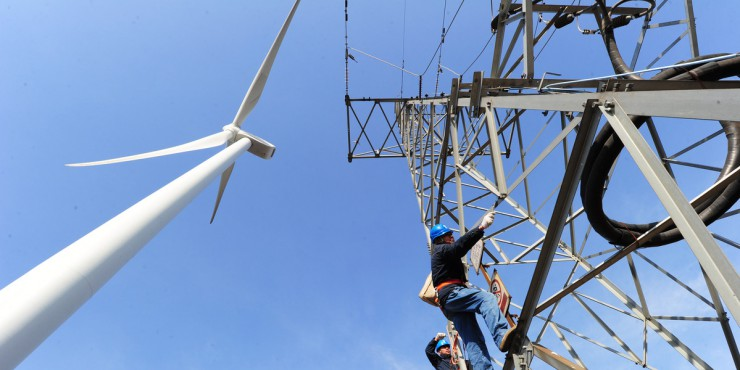 China's power use up 4.6% in May