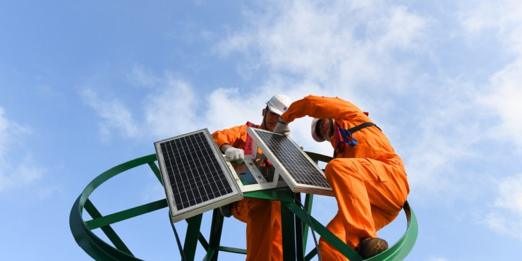 Electricity consumption in China rose 3.6 percent in August from a year earlier